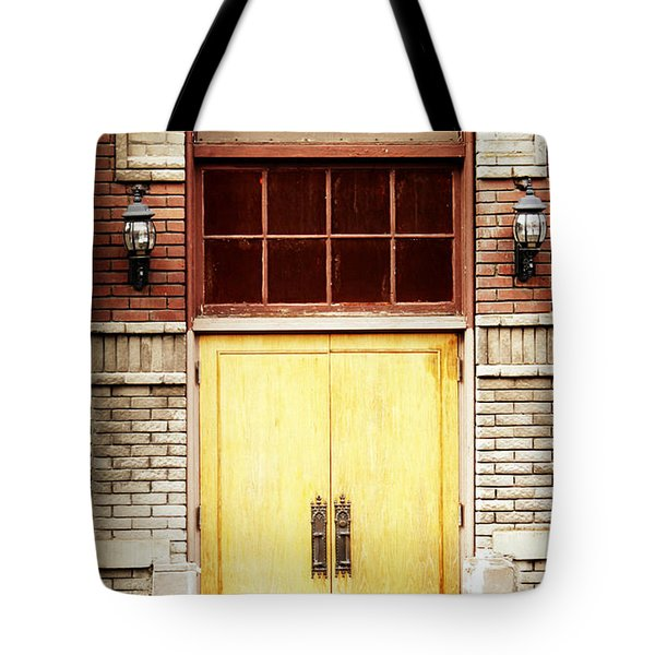 Street View Tote Bag by Melanie Lankford Photography