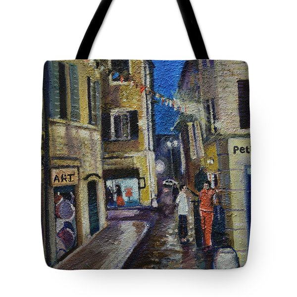 Street View Provence 2 Tote Bag
