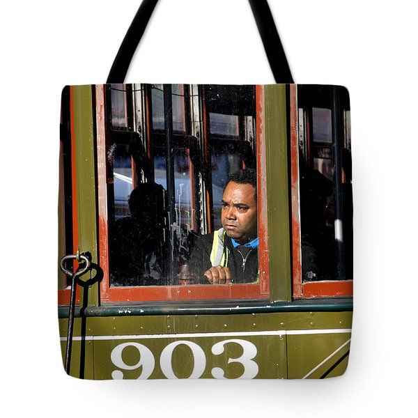 Tote Bag featuring the photograph Streetcar 903 by KG Thienemann