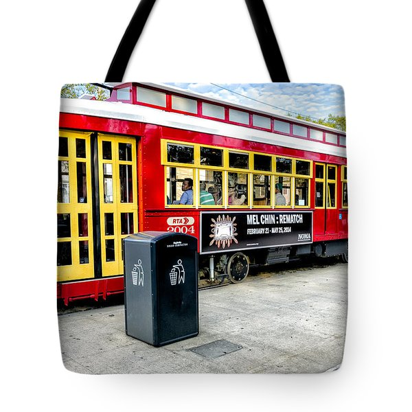 Streetcar On Canal Street Nola Tote Bag by Kathleen K Parker