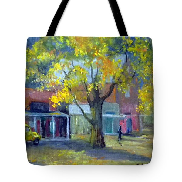 Streets Of Genoa Tote Bag by Judie White