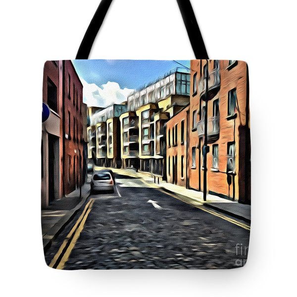 Streets Of Ireland Tote Bag