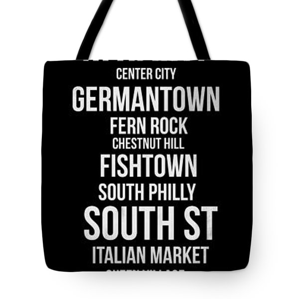 Streets Of Philadelphia 2 Tote Bag