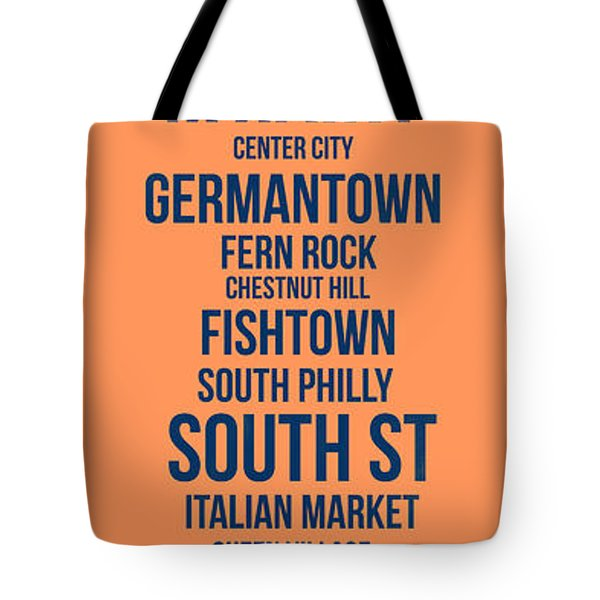 Streets Of Philadelphia 4 Tote Bag