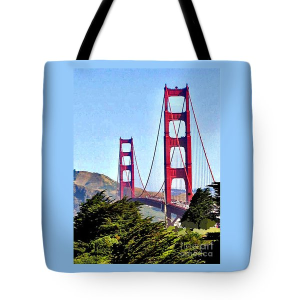 Strength In Beauty Tote Bag
