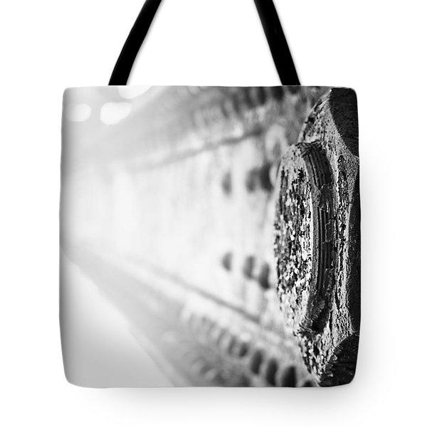 Strength Tote Bag by Matthew Blum