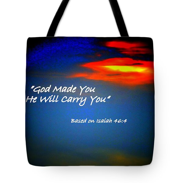 Strength When Weak Tote Bag by Scott Polley