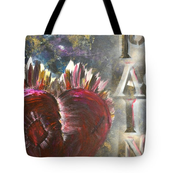 Striking Pain Tote Bag