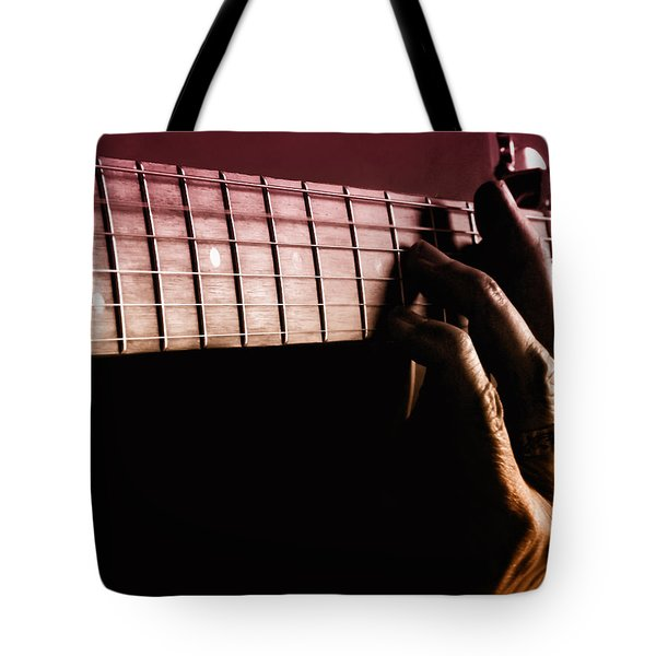 String Me Along Tote Bag