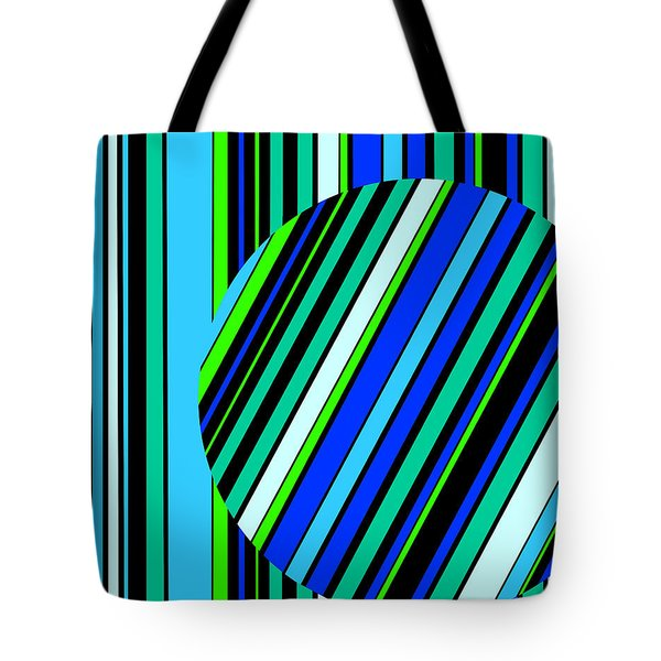 Striped Circle  C2014 Tote Bag