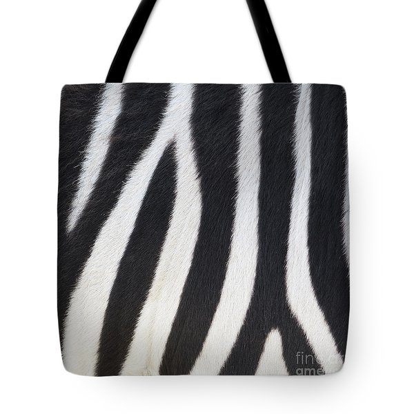 Tote Bag featuring the photograph Stripes On Zebra by Bryan Mullennix