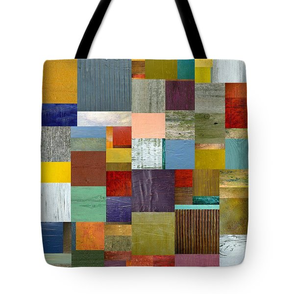 Strips And Pieces Vl Tote Bag