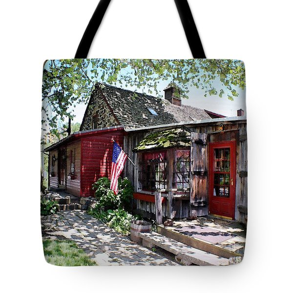 Tote Bag featuring the photograph Strode Mill West Chester Pa by Polly Peacock