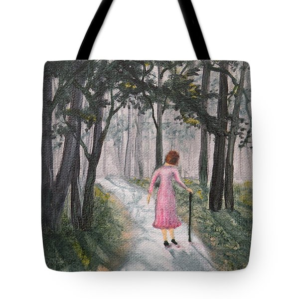 Strolling Down Memory Lane Tote Bag