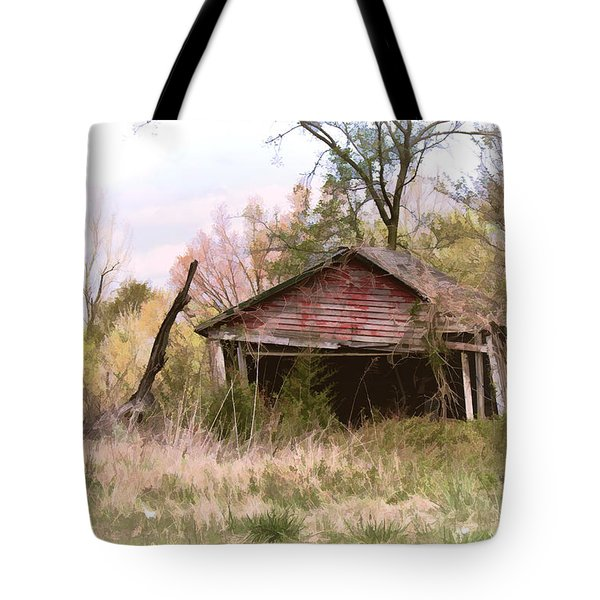 Strong Enough Tote Bag by Bonnie Willis