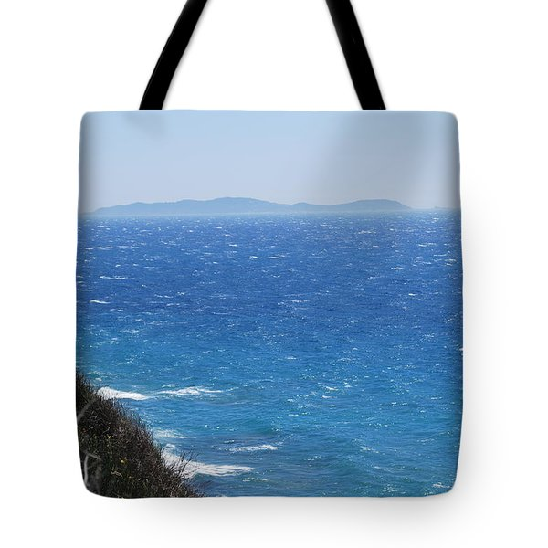 Tote Bag featuring the photograph Strong Mistral by George Katechis