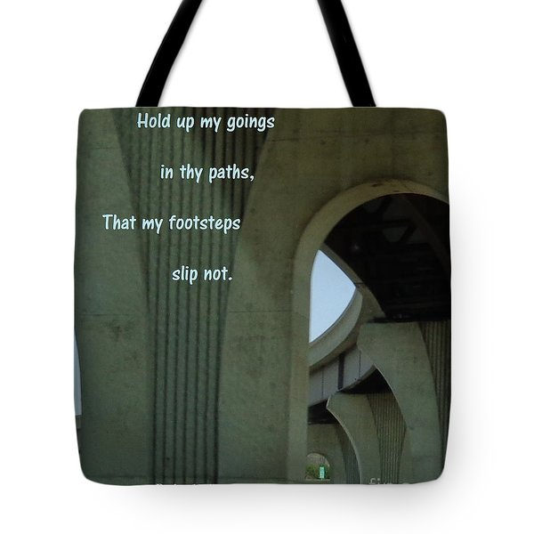 Strong Support Tote Bag