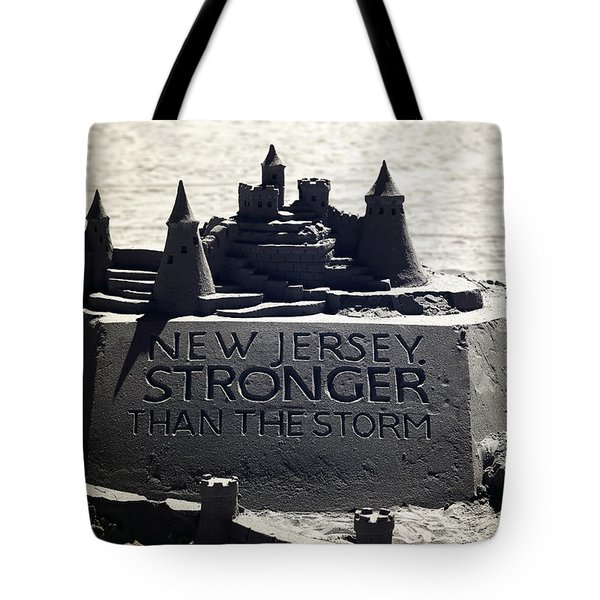 Stronger Than The Storm Tote Bag by John Rizzuto