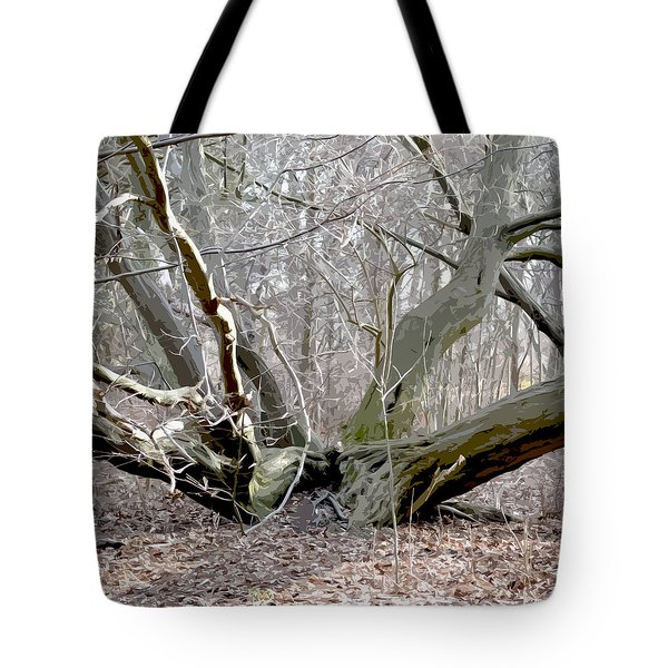 Struck By Lightning - Grafical Tote Bag