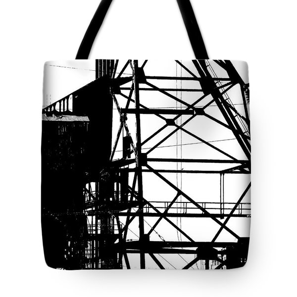 Structure 3 Tote Bag by Newel Hunter