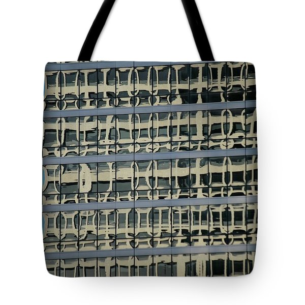 Tote Bag featuring the photograph Structured by Christiane Hellner-OBrien