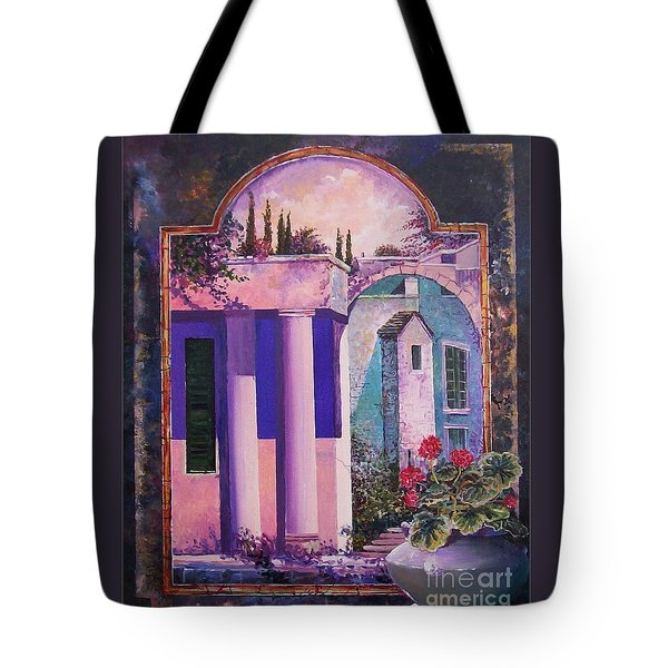 Structures With Emotional Dimensions Tote Bag by Sinisa Saratlic