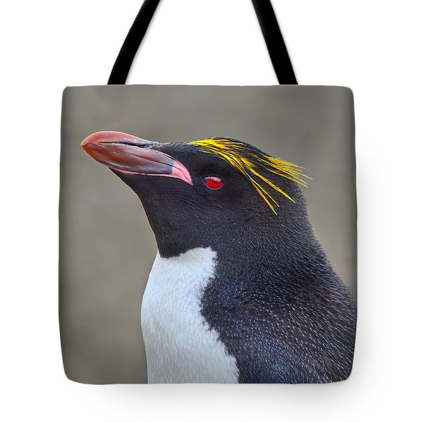 Stuck A Feather In His Hat Tote Bag by Tony Beck