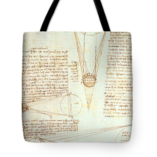 Studies Of The Illumination Of The Moon Tote Bag