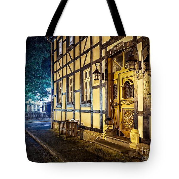 Studwork House Tote Bag