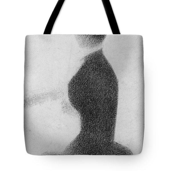 Study For Sunday Afternoon On The Island Of La Grande Jatte Tote Bag by Georges Pierre Seurat