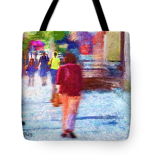 Study In A Park Tote Bag