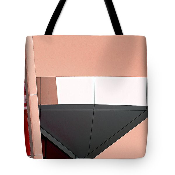 Study In Architecture Tote Bag by Rick Mosher
