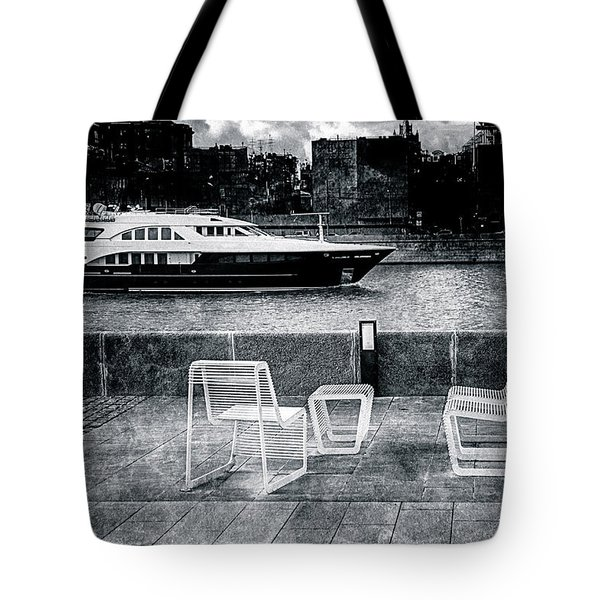 Study In Black And White Tote Bag by Alexander Senin