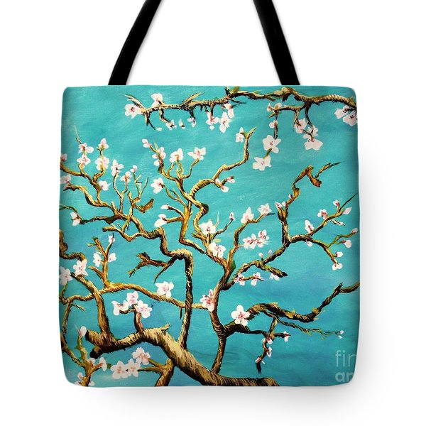Study Of Almond Branches By Van Gogh Tote Bag