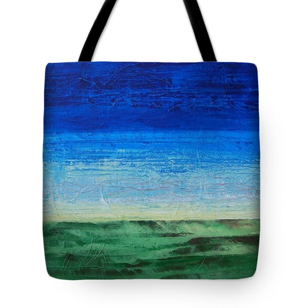 Study Of Earth And Sky Tote Bag