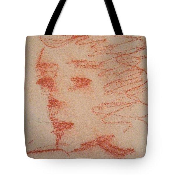Study Of Sanguine Tote Bag