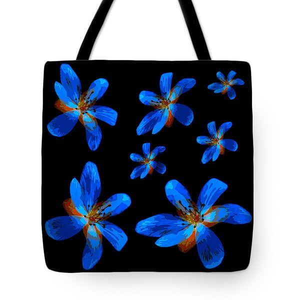 Study Of Seven Flowers #1 Tote Bag