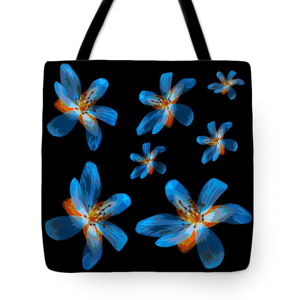 Study Of Seven Flowers #2 Tote Bag