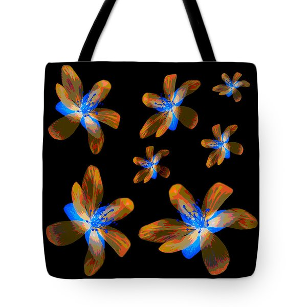 Study Of Seven Flowers #5 Tote Bag