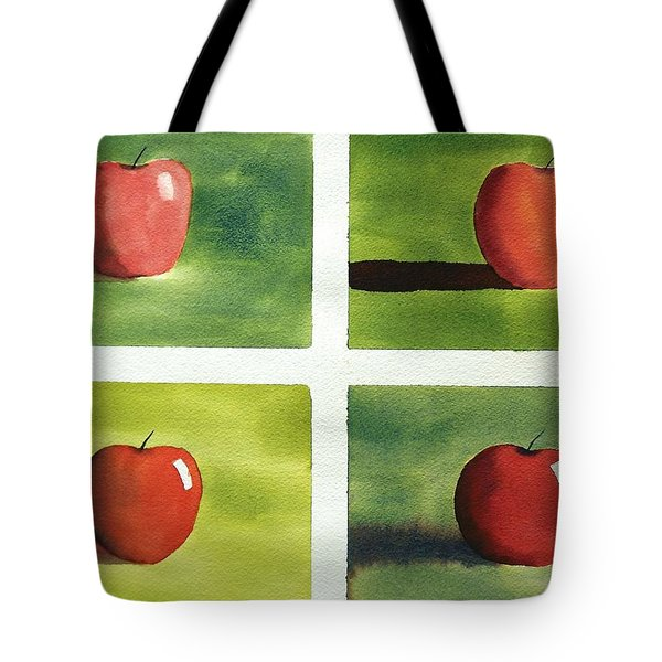 Study Red And Green Tote Bag