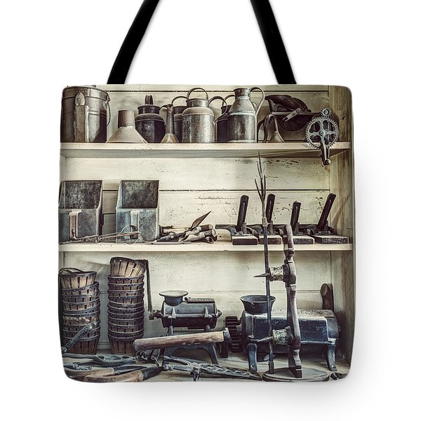 Stuff For Sale - Old General Store Tote Bag by Gary Heller
