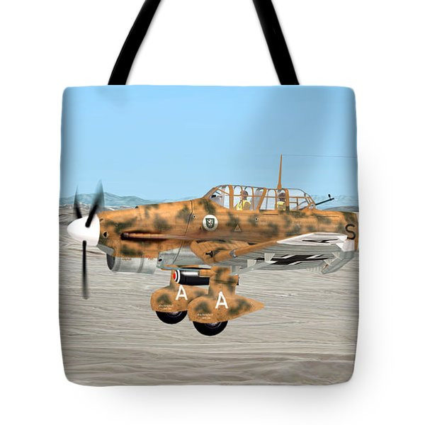 Stuka Dive Bomber Tote Bag