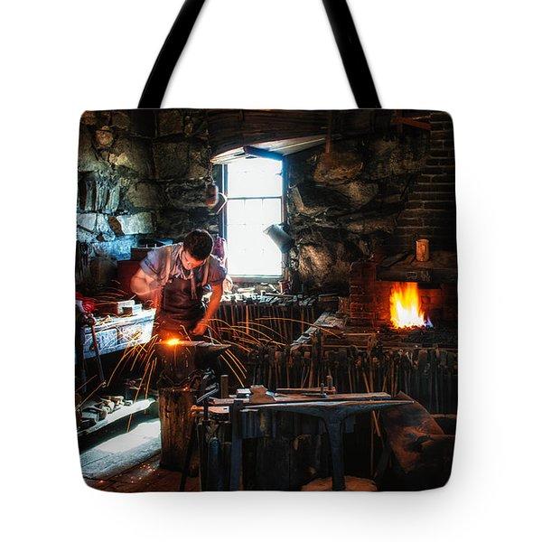 Sturbridge Village Blacksmith Tote Bag