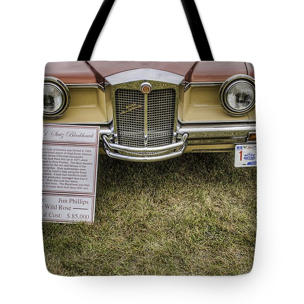Stutz Blackhawk Tote Bag