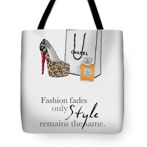 Style Remains The Same Tote Bag