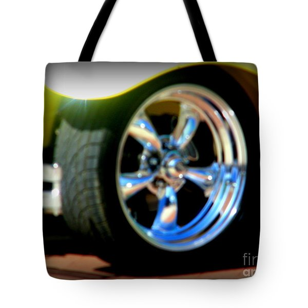 Tote Bag featuring the photograph Stylin' Wheels by Bobbee Rickard