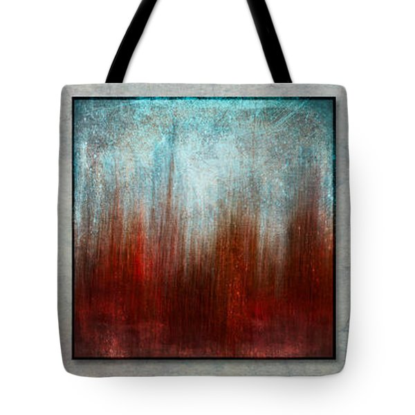 Stylized Beach Grasses Tote Bag