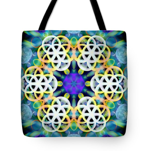 Subatomic Orbit Tote Bag