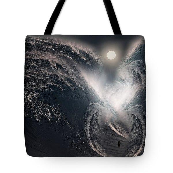 Subconscious Tote Bag by Lourry Legarde