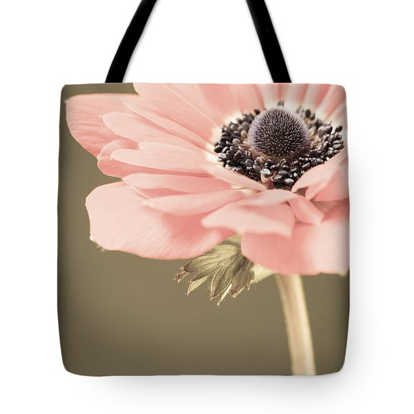 Subdued Anemone Tote Bag by Caitlyn  Grasso
